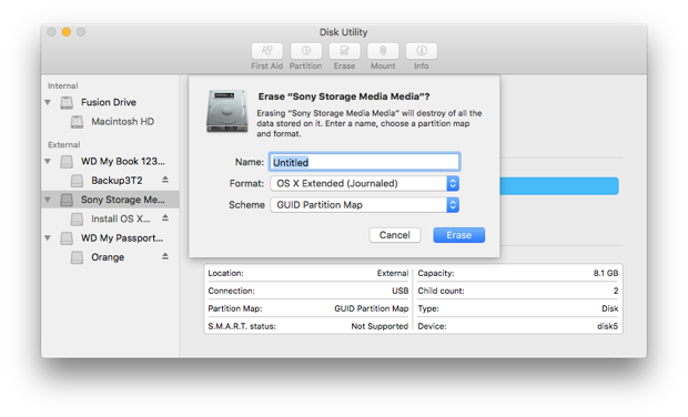 A clean install of macOS Mojave 10 14 on a fusion drive - John Bokma