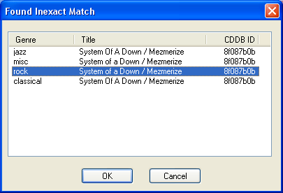 Ripping Music CDs with CDex