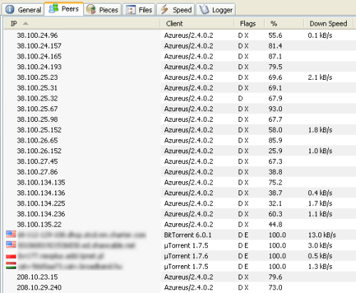 Blocking ip addresses in utorrent peers in torrent many of which are highly suspicious stopboris Gallery