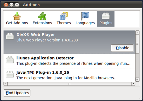 Using the Oracle Java Plug-in with Firefox
