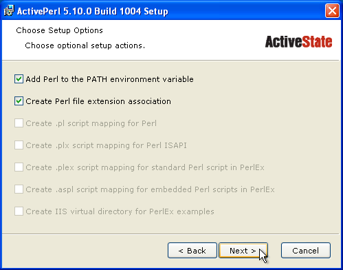 activeperl 5.10 for windows